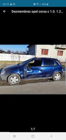 Dezmembrez Opel Corsa C 1.0,1.2,1.3 an 2000-2005
