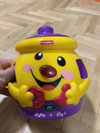 Vand jucarie borcan cu forme Fisher Price
