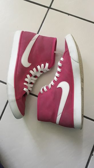 Кецове Nike Primo court mid suede