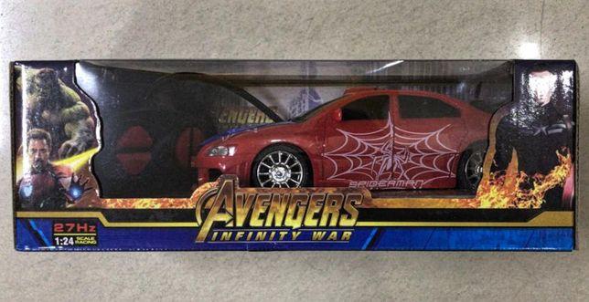 Машинка модель Мстители Avengers на радиоуправлении 1:24 модель