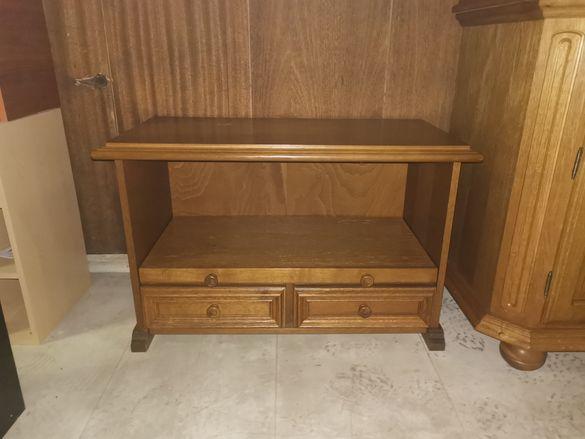Шкаф за телевизор масив