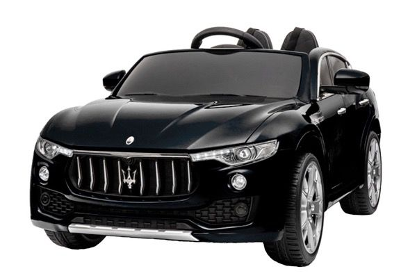 Masinuta electrica Kinderauto Maserati Levante 2x45W PREMIUM #Negru