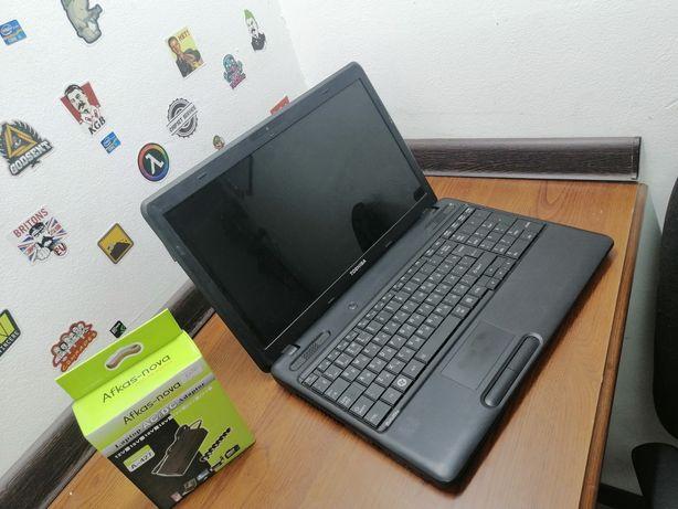 Ноутбук TOSHIBA для работы и учёбы