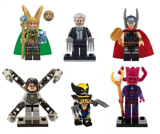 Minifigurine tip LEGO Super Heroes, Galactus, Logan, Doctor Octopus