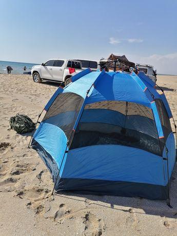 Палатки автоматические двухслойные