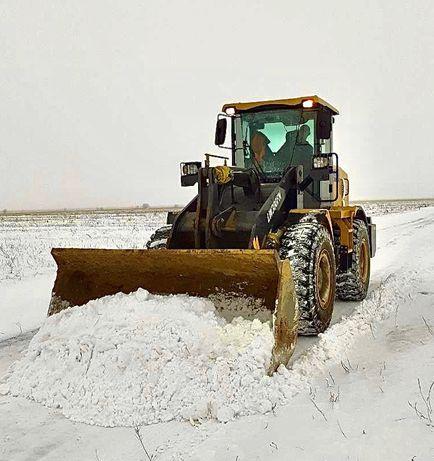 Погрузчик, Услуги погрузчика, уборка снега