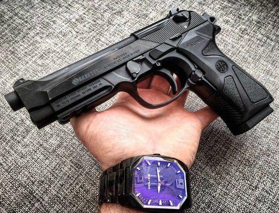Editie Lim. =>PISTOL Airsoft Beretta 90 TOW #OTEL# PUTERE MAXIMA 4,6J