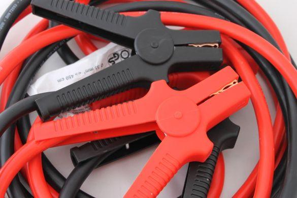 Кабели за подаване прехвърляне на ток 4.5метра 35мм2 2000А Amp 12V 24V