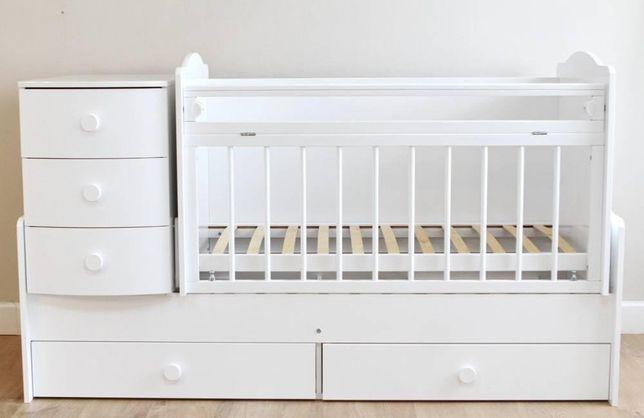 Кроватка детская 3 в 1 трансформер