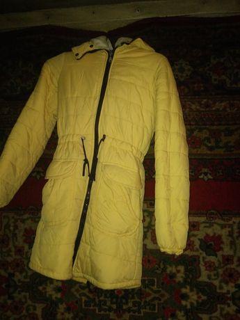 Продам пуховик и зимний костюм р 46.48
