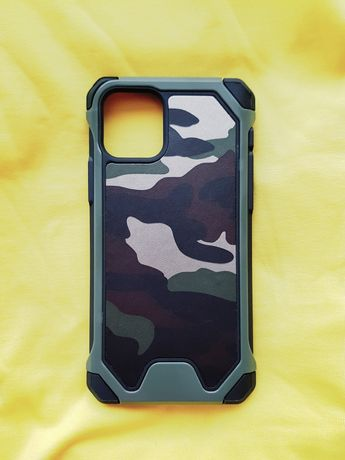 Камуфлажен удароустойчив кейс калъф за iPhone 11, 11 Pro, 11 Pro Max