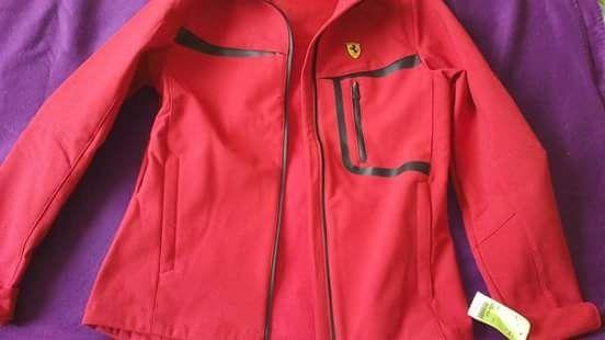 Ново спортно мъжко яке Ferrari