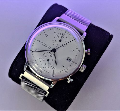 JUNGHANS Chronoscope - Max Bill , made in Germany