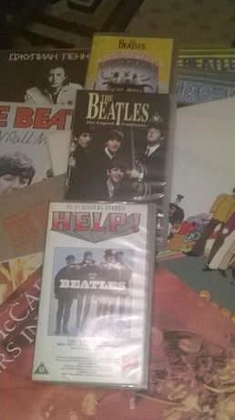 9 Discuri Vinil cu The Beatles +3 caste video