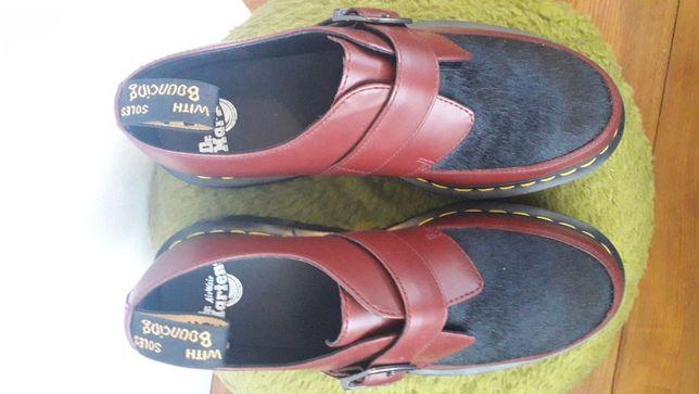 Dr Martens Ramsey Monk Black Hair pantofi piele Unisex 42