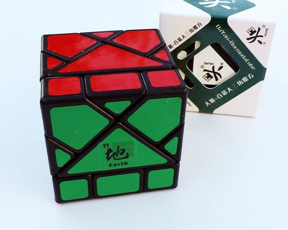 DaYan Bermuda - EARTH - Cub Rubik Special