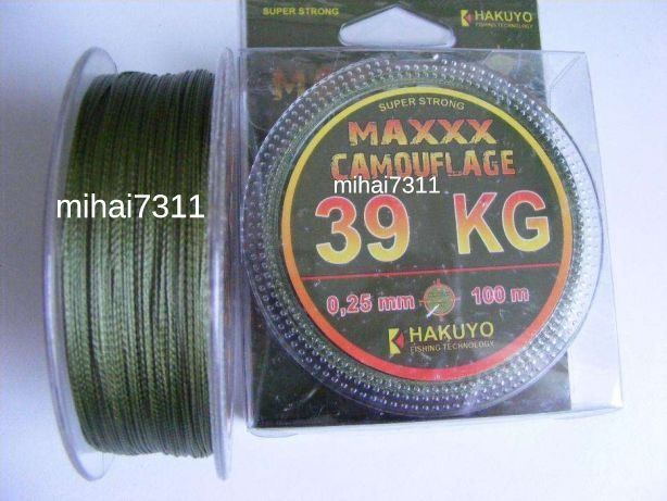 Fir Textil Hakuyo CRAP 100m/0,16mm/0,25mm/0,35mm
