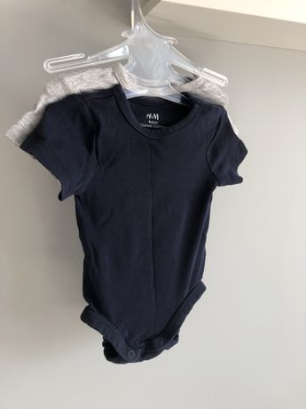 Бебешки бодита размер 62, H&M