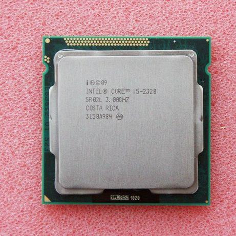 Процессор core - i5, (750, 2320) , celeron(r) g1620