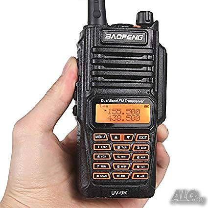 Мощна, двубандова, професионална радиостанция Baofeng UV-9R 10W UV-5R,
