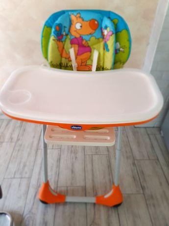 Детско столче за хранене Chicco polly 2 в 1 wood
