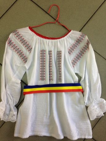 VAND camasa IE bluza COPII costum national traditional popular 1-2-3