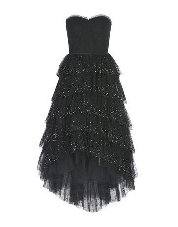 Черна дамска официална (бална) рокля тюл
