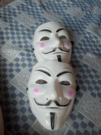 Маска анонимуса .