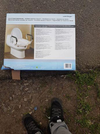 Înălțător tualeta cu manere