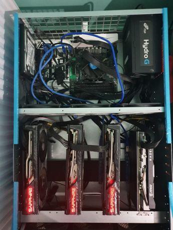 rig 450 MH minat ethereum mining bitcoin