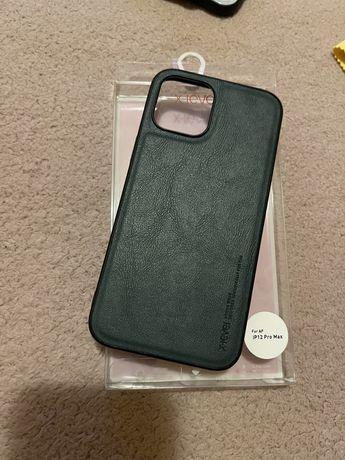 Husa iphone 12 pro max green