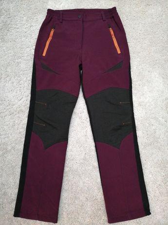 Pantaloni fete Softshell S-M de iarna  elastici windstopper