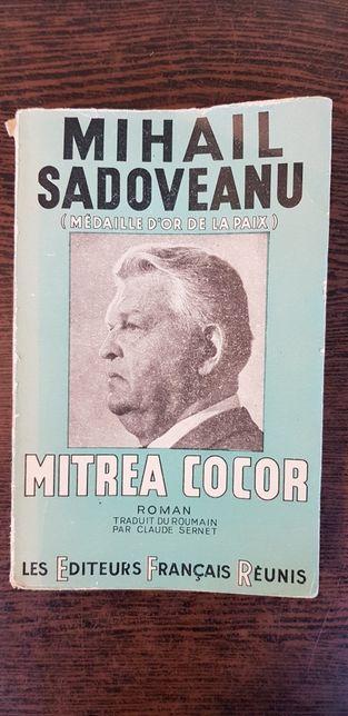 Mihail Sadoveanu din ro in franceza