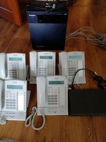 Цифровая гибр. IP-ATC Panasonic KX TDA100, циф. системный телефон и др