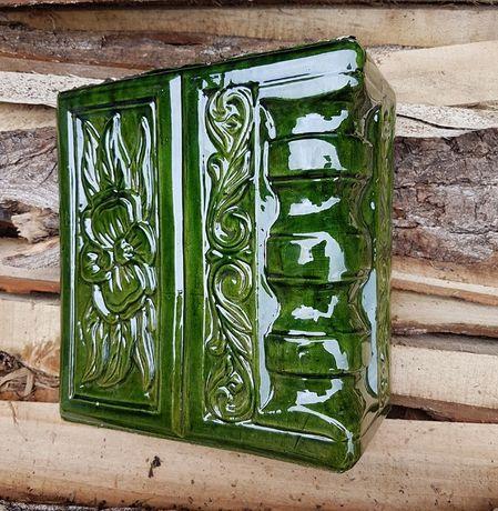 Soba de teracota verde deschis din shamota