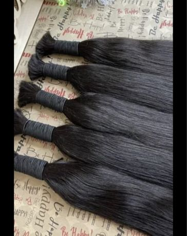 Натуральный волос ,Натуральные волосы  , до 90 см , срезы  от 35000 тг