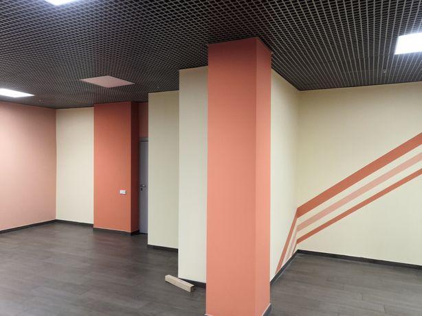 Покраска стен,побелка потолков фасадов крыши путем безвоздушного на