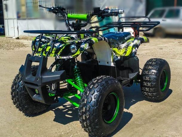 ATV electric Nitro Eco Toronto 1000W 48V Grafiti-Verde cu DIFERENTIAL