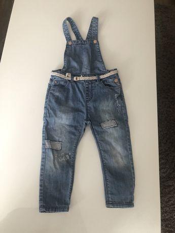 Детски дрехи 1/5-2 години дънкови гащеризони, дънки, ту пола...