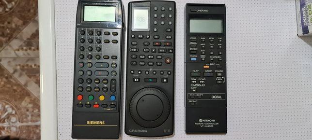 Telecomenzi vintage Grundig RP35, Hitachi VT RM252E, Siemens