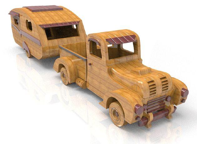 camioneta cu rulota