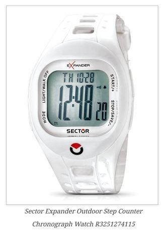 Ceas Sector - Outdoor Step Counter Chronograph