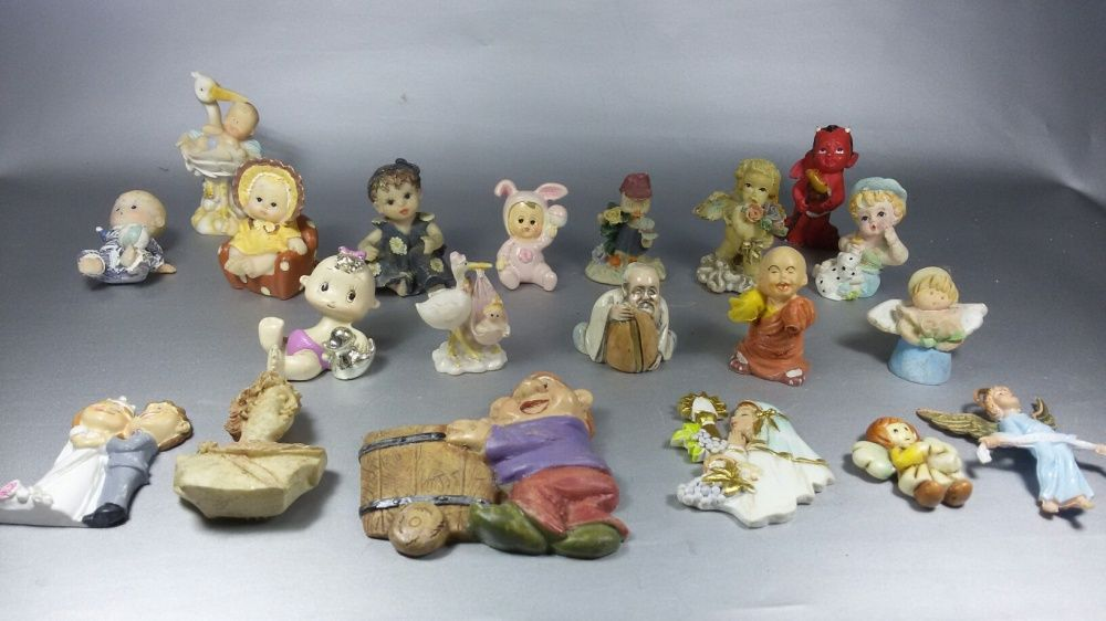 Figurine bebe din portelan 20 piese Baia Mare - imagine 1