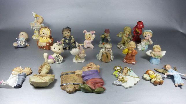Figurine bebe din portelan 20 piese