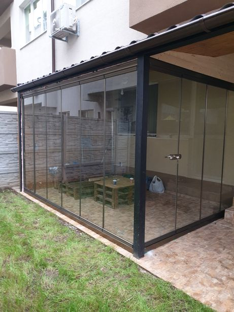 Inchideri terase balcoane foisoare cu sticla