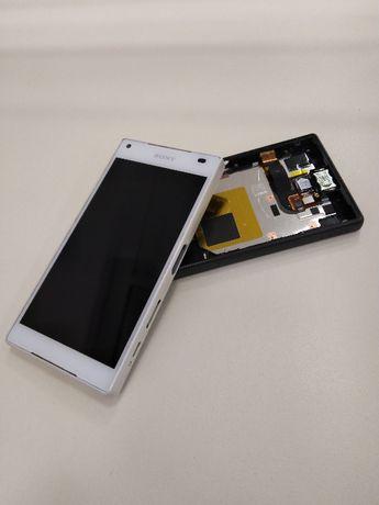 Дисплей с тъч / стъкло и рамка за Sony Xperia Z5 Compact Оригинал