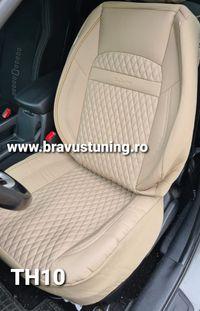 Huse auto Piele Ecologica Fiat,BMW,PassatFord,Kia,Hyundai