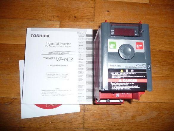 Честотен регулатор(инвертор) TOSHIBA VFNC3S-2007PL - 0,75kW/2000V