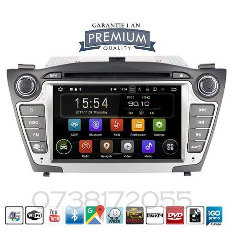 Navigatie GPS Android Hyundai ix 35 Tucson DVD MP3 4G Wi-Fi
