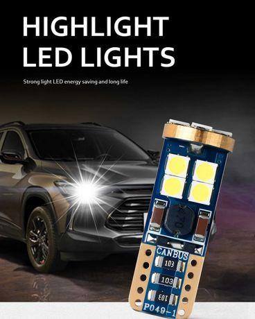 Супер ярки T10 LED крушки Canbus без грешка-Дневни светлини
